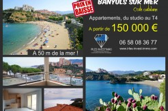 New apartments in Banyuls-sur-Mer, Languedoc Roussillon
