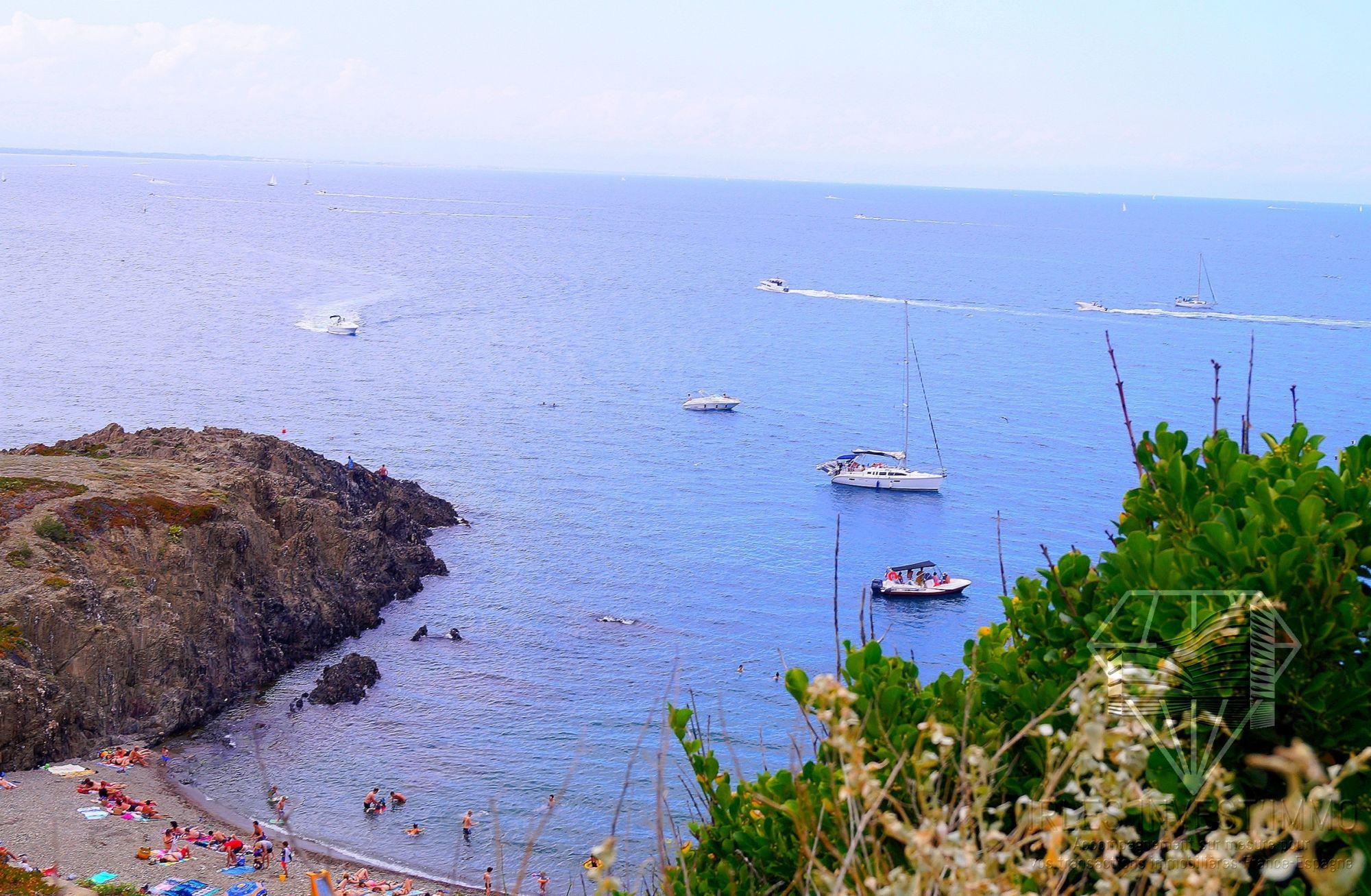 Vente appartement neuf programme immobilier vue mer port vendres languedoc roussillon pyrenees - Immobilier port vendres pyrenees orientales ...