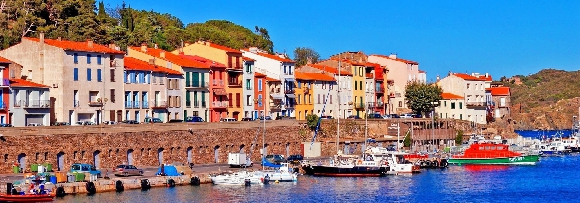 Apartments with sea view for sale in Port-Vendres