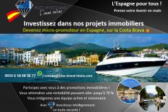 Devenez micro-promoteur en Espagne, sur la Costa Brava