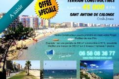 Sant Antoni de Calonge – Opportunité – Terrains constructibles