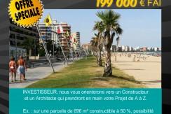 Lot de 5 terrains constructibles à Sant Antoni de Calonge