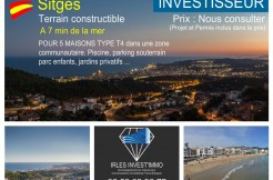 vente-terrain-constructible-projet-immobilier-sitges-costa-dorada-espagne